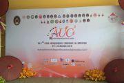 ตัวแทนนักศึกษานำเสนอบทความในงาน AUCC2019